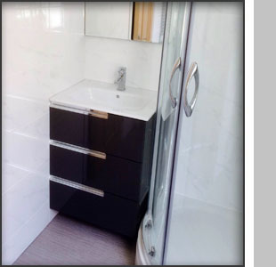 Vanity unit at Middleton Place, London W1